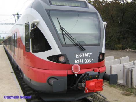 Munkában az új vonat